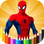 Tải Spidey Coloring Pages APK
