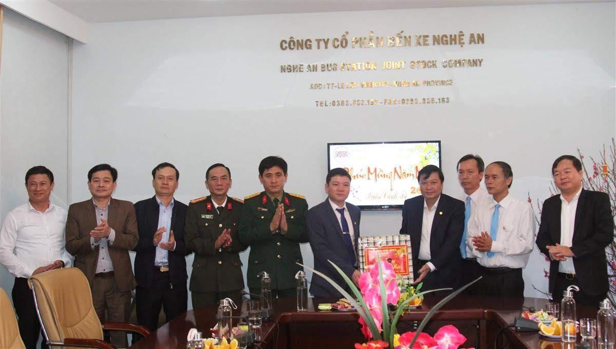 Chúc Tết Công ty cổ phần bến xe Nghệ An
