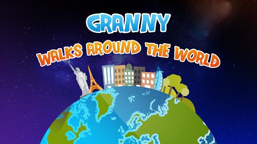 Granny Walks Around The World