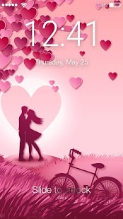 Loving Hearts Screen Lock - náhled