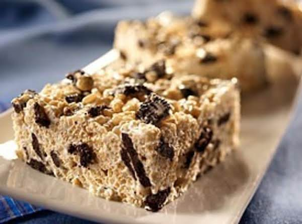 Cookies'n Cream Crispy Treats Recipe