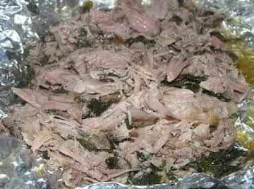 Hawaiian Kalua Pork in the Crockpot
