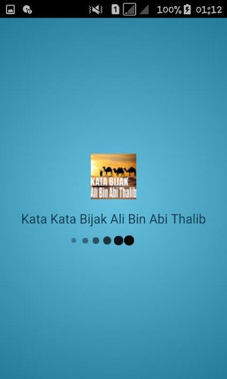 Kata Kata Bijak Ali Bin Abi Thalib Android Aplikasi Appagg