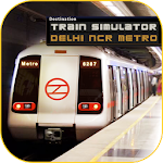 DelhiNCR Metro Train Simulator icon