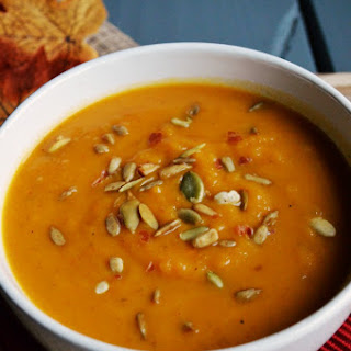 Butternut Squash with Sweet Potato Soup