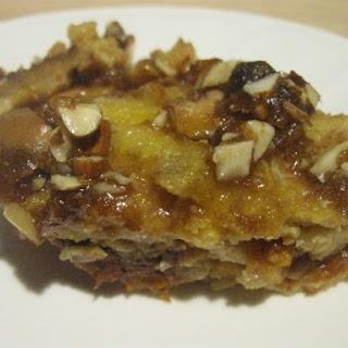 Apricot Almond Bread Pudding.