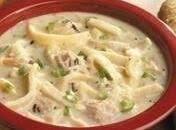Turkey Noodle & Wild Rice Soup