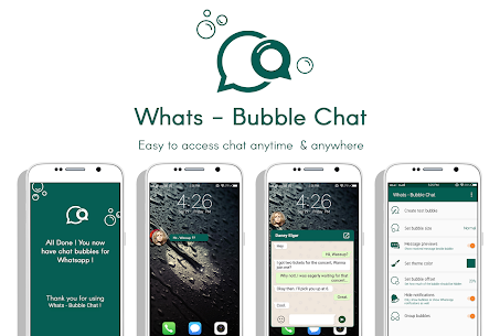 Download Whats – Bubble Chat App For Android 1