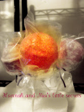 Photo: Cake pop in pink with Hot Pink Sprinkle