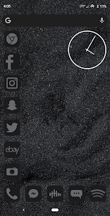 Midnight Black Icon Pack 1.0.3 Android Mod APK 2