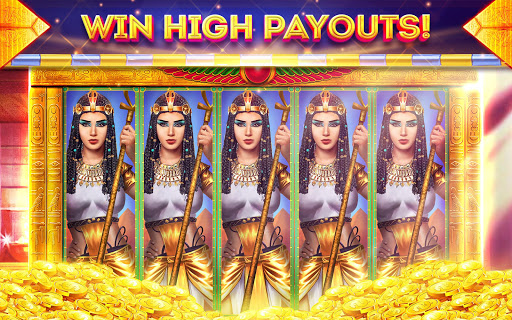 Pharaohs of Egypt Slots u2122 Free Casino Slot Machine 1.45.4 screenshots {n} 8