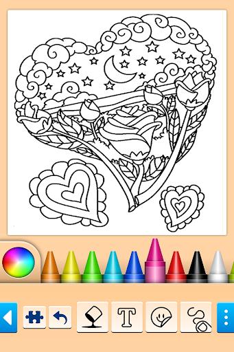 Girls games: Painting and coloring screenshots 2