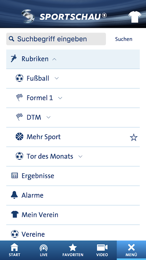 SPORTSCHAU- screenshot