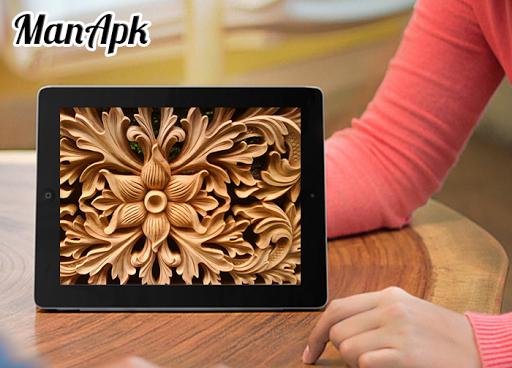 Wood Carving Art Design