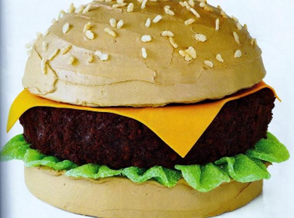 Cheeseburger Cake Recipe