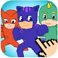 Color By Number Pixel Art Moonlight Hero