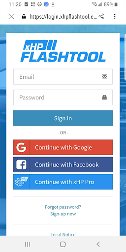 xHP Flashtool 4.0.2548 Screenshots 8