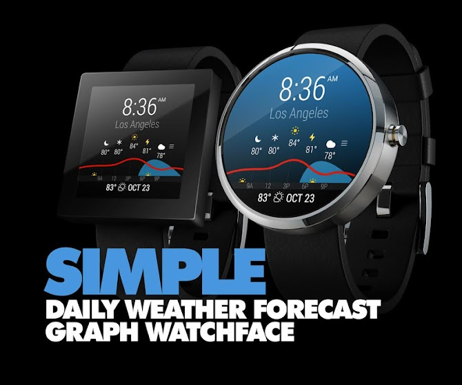InstaWeather for Android Wear Android 3