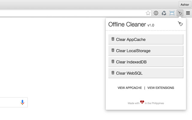 Offline Cleaner