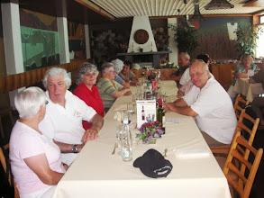 Photo: Mittagessen im Hotel Rhone