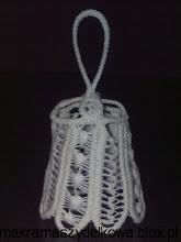 Photo: dzwonek makrama szydełkowa