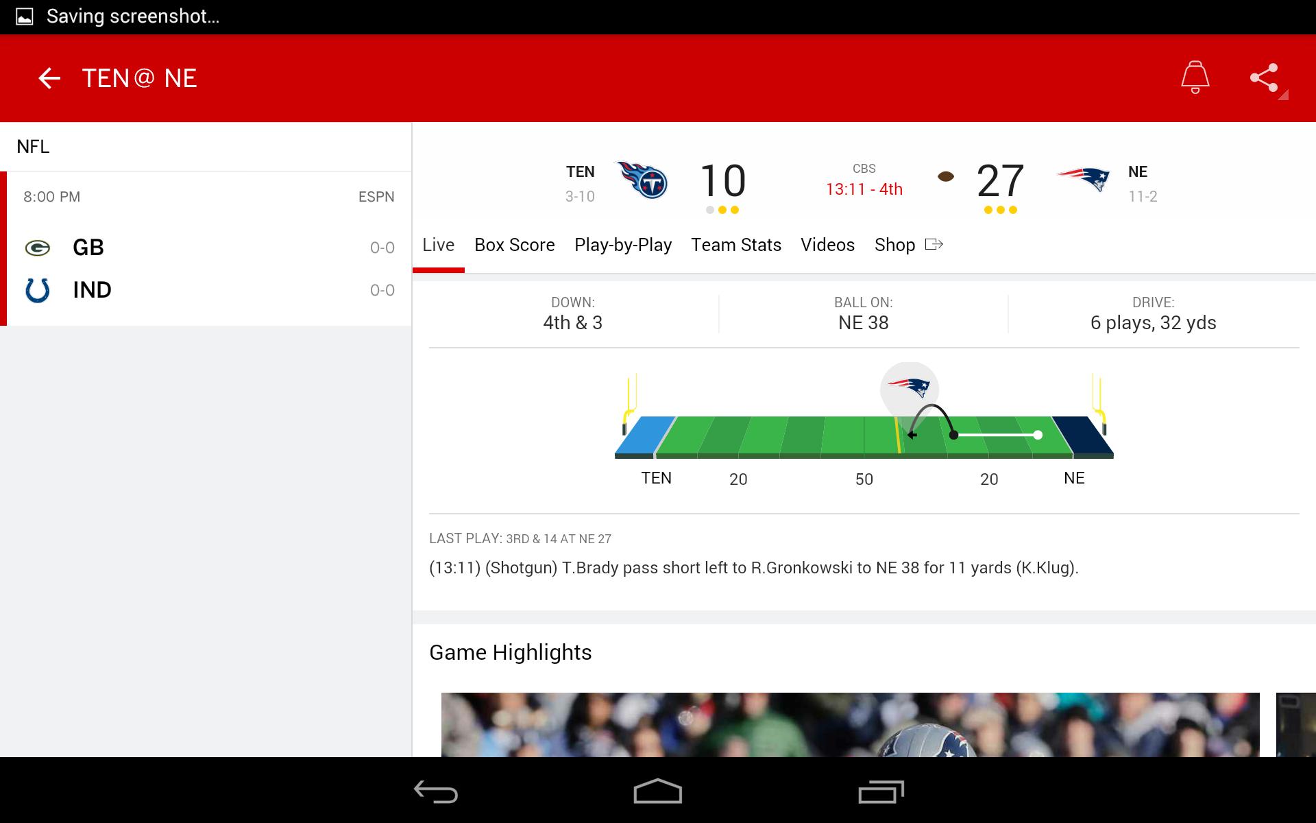 ESPN screenshot #16