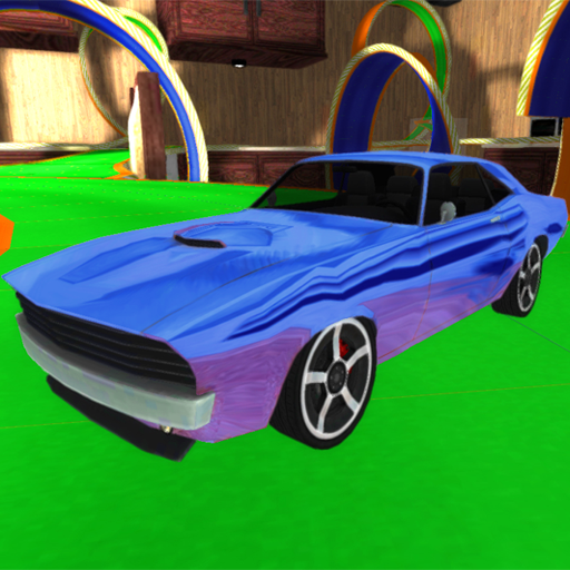 Car Driving Racing 3D Icon