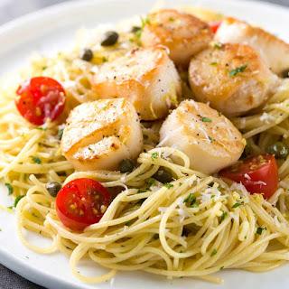 Seared Scallops Pasta Recipes
