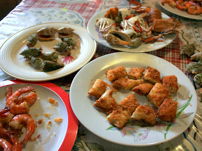 Fiesta Food in Bohol