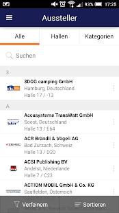 Messe Düsseldorf App- screenshot thumbnail