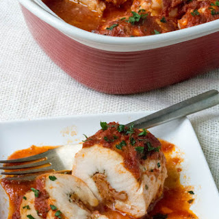 Low Carb Pizza Stuffed Chicken Breasts.