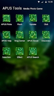 Shine Green Leaf Theme & HD wallpapers - náhled