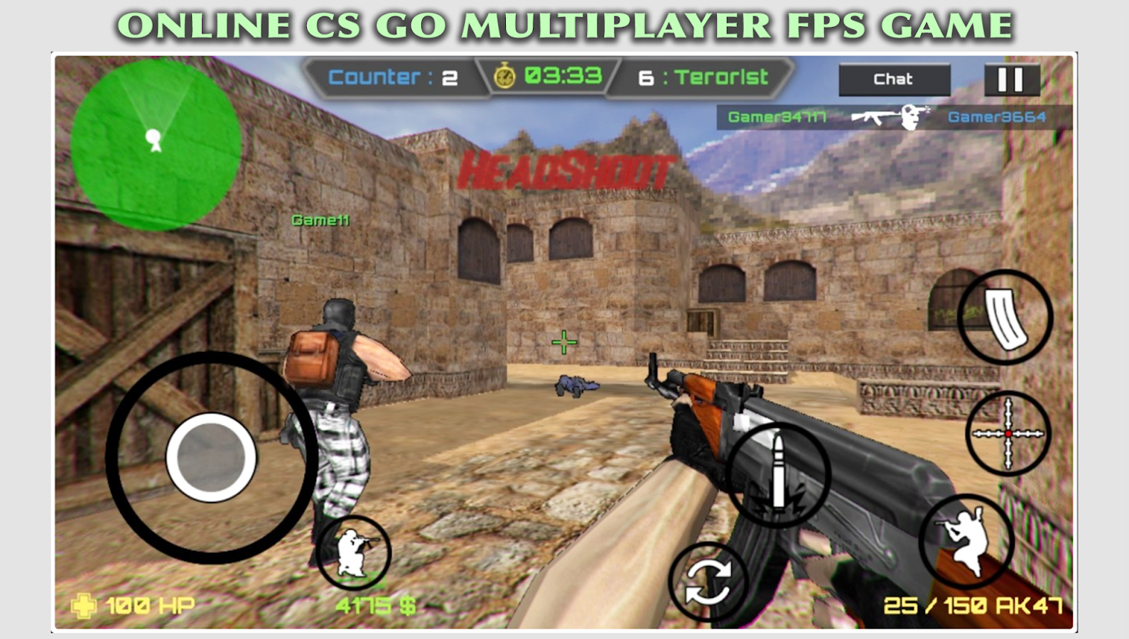 Counter Terrorist Bullet Party- screenshot