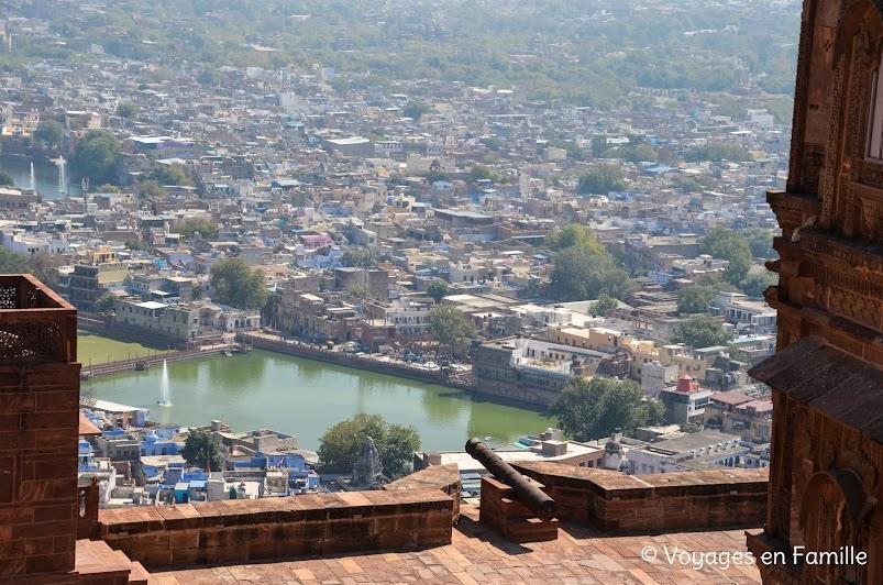 vue depuis Mehrangarh