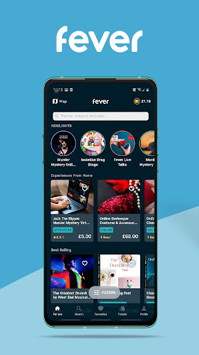 Fever - Discover. Book. Enjoy. screenshot 1
