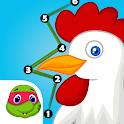 iLearn: Kids Connect the Dots FREE (Preschool) icon
