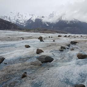 Frozen Paradise by Riddhima Chandra - Landscapes Travel ( #frozen, #mendenhallglacier, #landscape, #ice, #alaska, #travel )