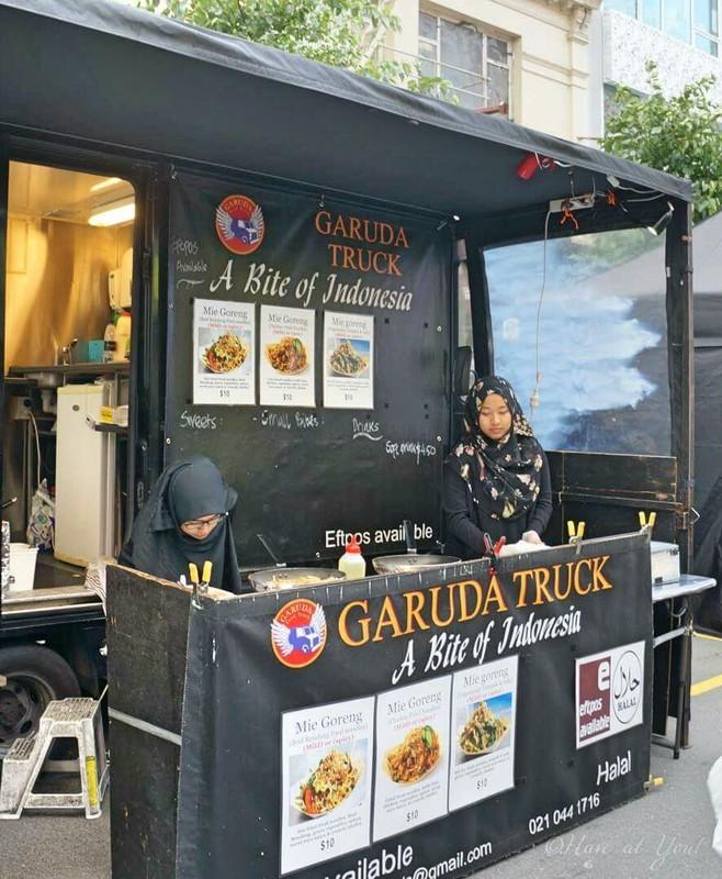 Garuda truck for Indonesian food