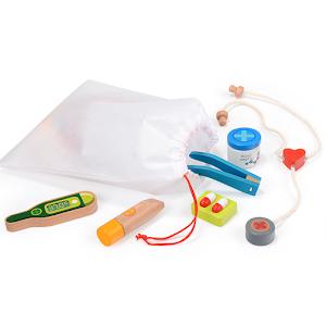 Puzzle 3D lemn - Set doctor si ustensile medicale