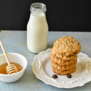 Honey Oatmeal Chocolate chip cookies.