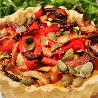 Roasted Vegetable Tart GF SCD