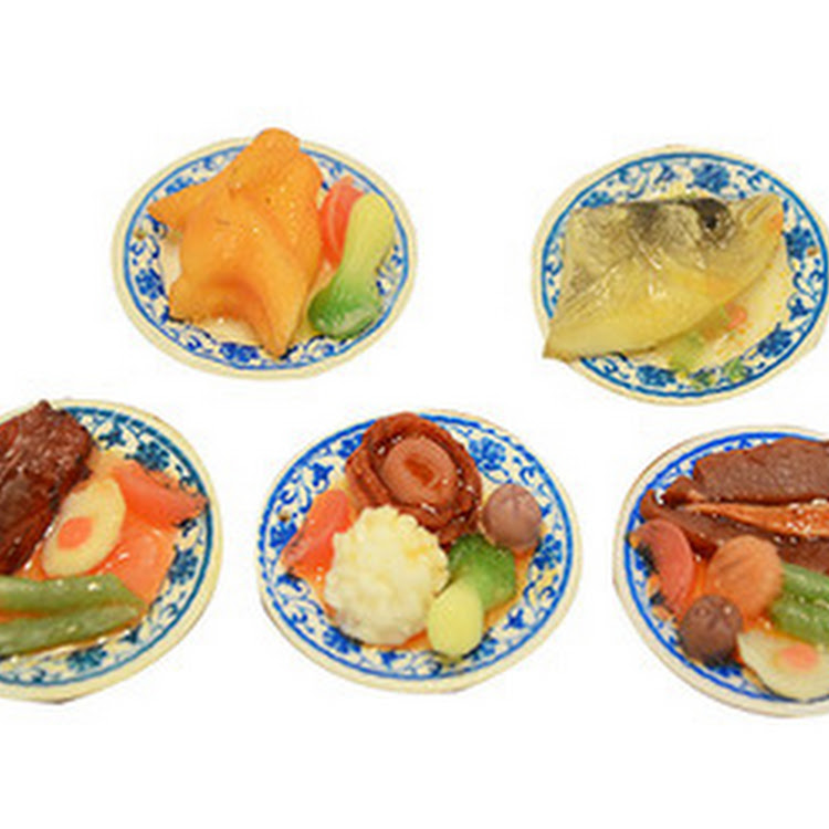 Fridge Magnet - Handmade Chinese Cuisine Miniature by Artistic Home