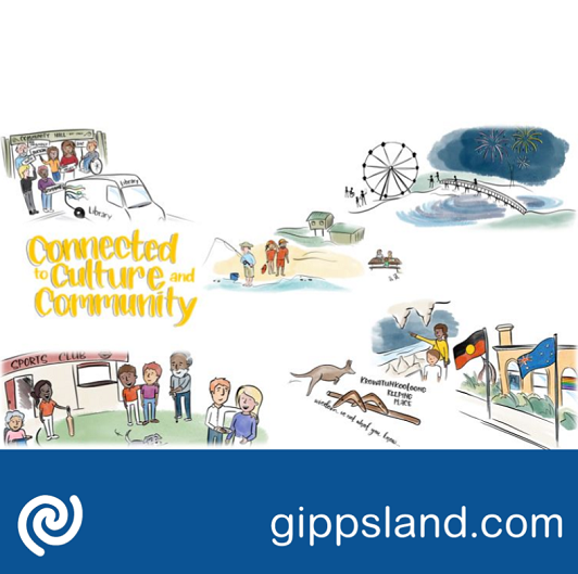 Connected to culture and community: East Gippslanders are resilient, culturally connected and able to adapt to change