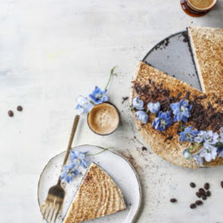 Greek Yogurt Vanilla Espresso Cheesecake Recipe