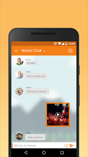 Senior People Mingle - Dating Chat App for Mature screenshot