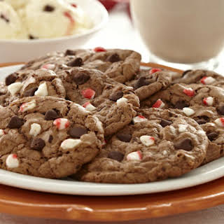 Peppermint Mocha Chocolate Chip Cookies.