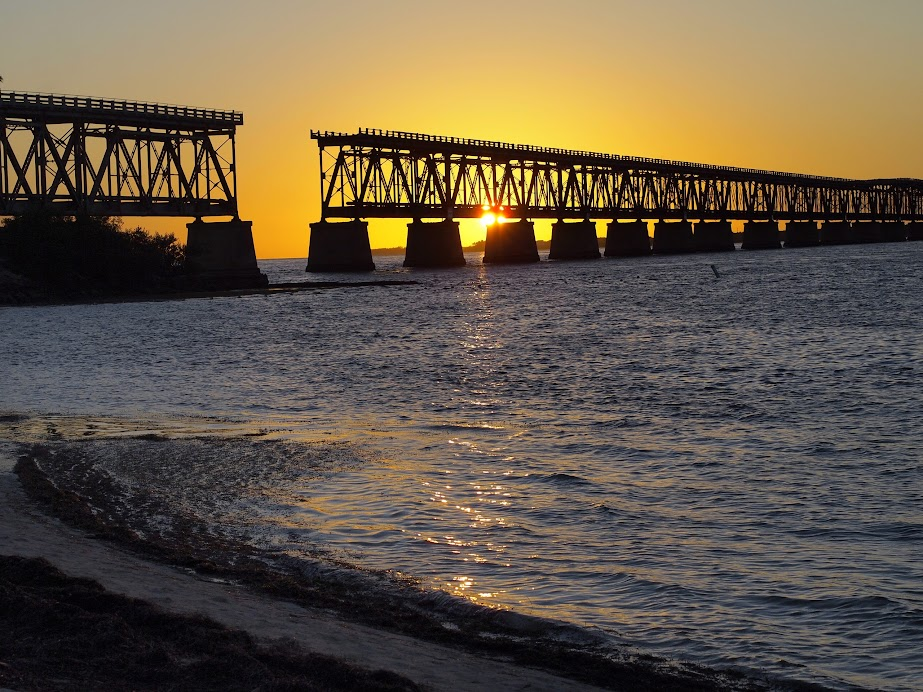 Sunset at Bahia Honda State Park