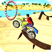 Motocross Beach Stunt Bike 3D