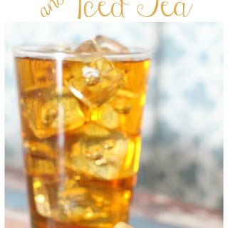 Paleo Trail Mix and Iced Tea Snack