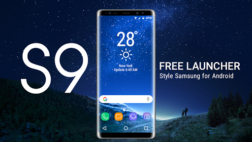 Download Galaxy S9 Launcher: Theme for Galaxy S9/S9+ Google